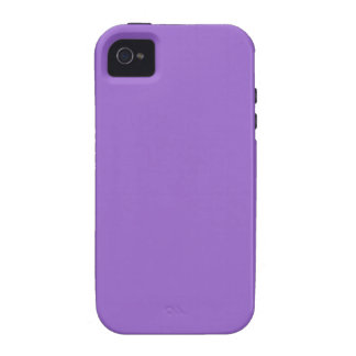 9966CC Solid Color Purple Background iPhone Case iPhone 4/4S Cover