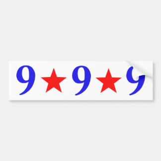 999 - Herman Cain 2012 Bumper Sticker
