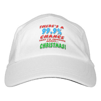 99.9% CHRISTMAS (blk) Hat