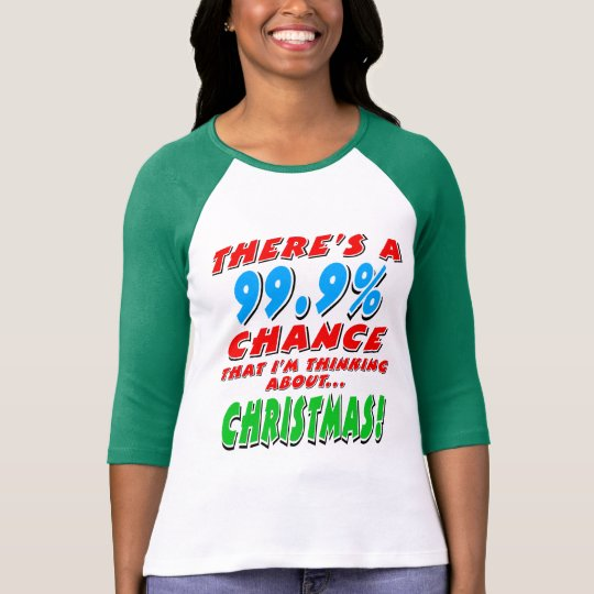 99.9% CHRISTMAS (blk) T-Shirt
