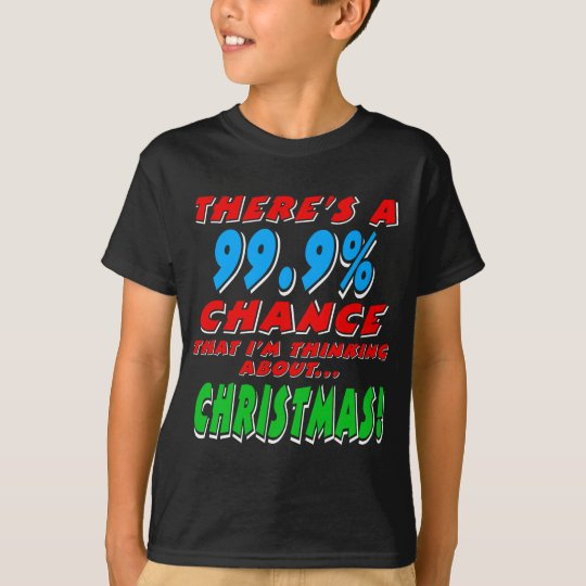 99.9% CHRISTMAS (wht) T-Shirt