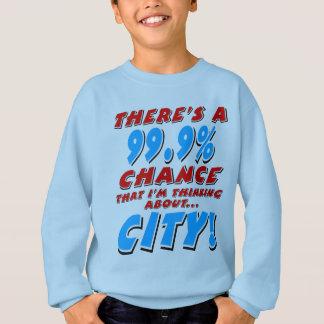 99.9% CITY (blk) Sweatshirt