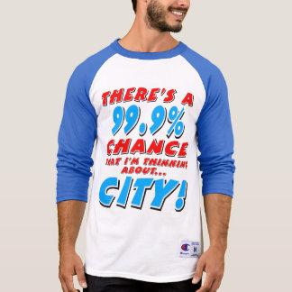 99.9% CITY (blk) T-Shirt