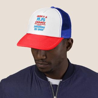 99.9% SHREDDING THE GNAR (blk) Trucker Hat