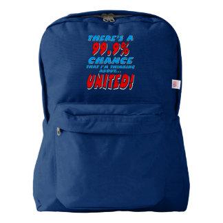 99.9% UNITED (wht) Backpack