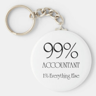 99% Accountant Key Ring