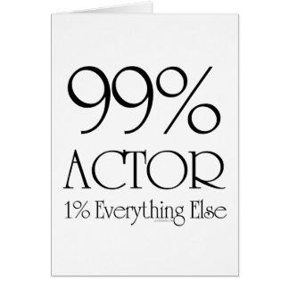 99% Actor Card