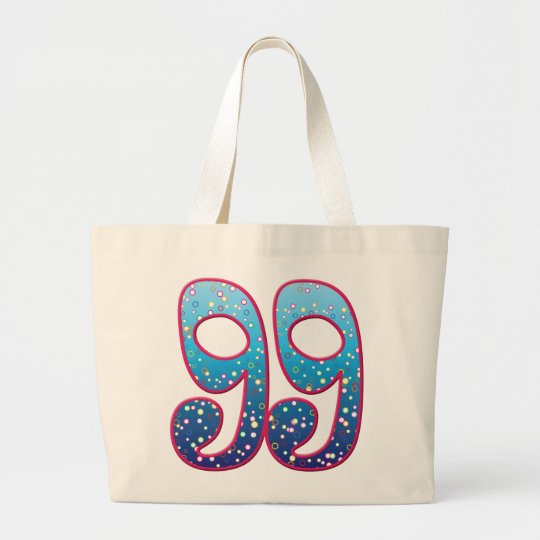 99 Age Rave Large Tote Bag