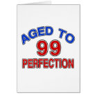 99 Aged To Perfection Card