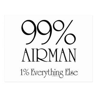 99% Airman Postcard