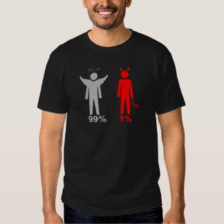 99% Angel 1% Devil Man Tee Shirt