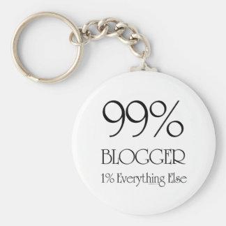 99% Blogger Keychain
