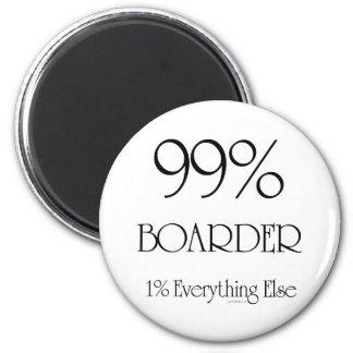 99% Boarder 6 Cm Round Magnet