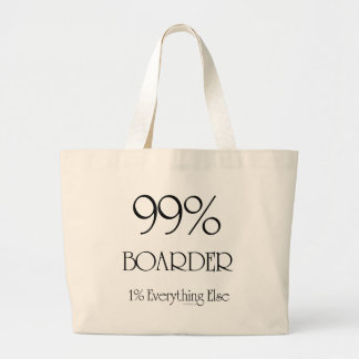 99% Boarder Jumbo Tote Bag