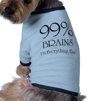 99% Brains Pet Clothing