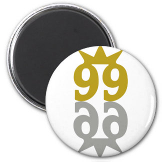 99-Crown-Reflection Refrigerator Magnets