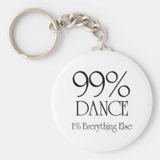 99% Dance Key Ring