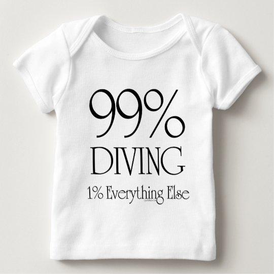 99% Diving Baby T-Shirt