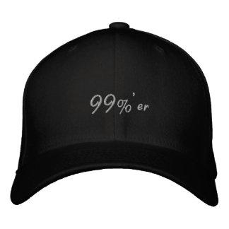 99% er Occupy Wall Street Cap Dark Embroidered Cap
