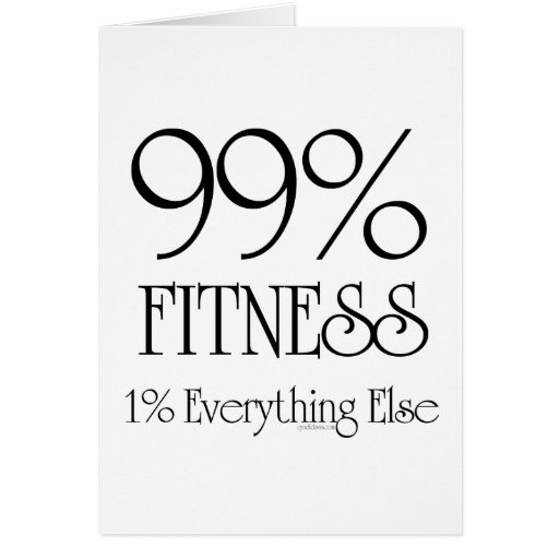 99% Fitness Card