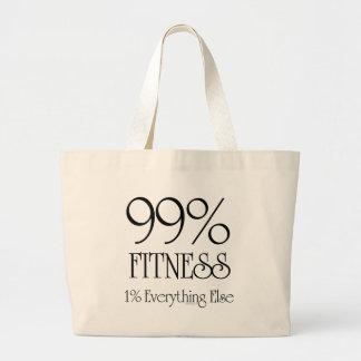 99% Fitness Jumbo Tote Bag