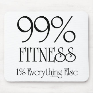 99% Fitness Mouse Pad