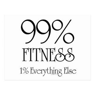 99% Fitness Postcard