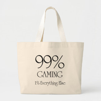 99% Gaming Large Tote Bag