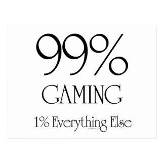 99% Gaming Postcard