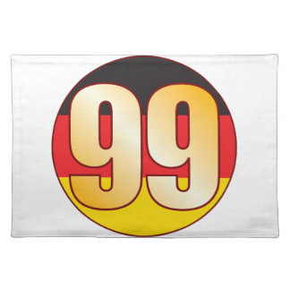 99 GERMANY Gold Placemat