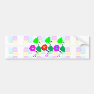 99  GIFTS : Nature Lover Girly Flower Prints Bumper Sticker