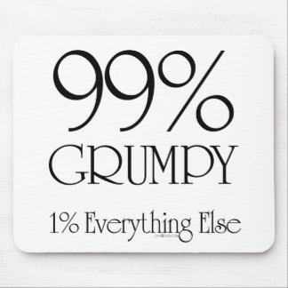 99 Grumpy Mouse Pads