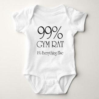 99% Gym Rat Baby Bodysuit