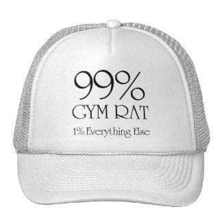 99% Gym Rat Trucker Hat