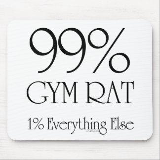 99% Gym Rat Mouse Pad