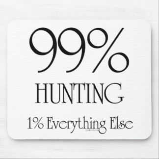 99% Hunting Mouse Pad