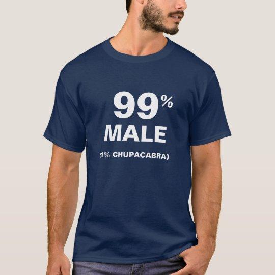 99% Male 1% Chupacabra T-Shirt
