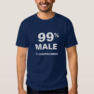 99% Male 1% Chupacabra Tee Shirts