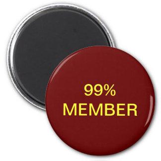 99% Member Magnet