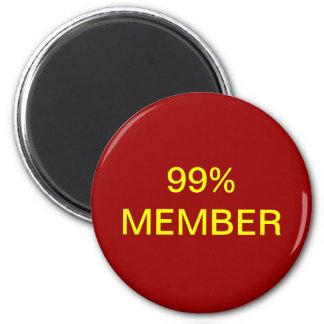 99 Member Fridge Magnet