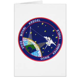 99 Mission Patch Greeting Card