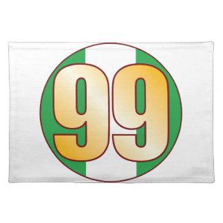 99 NIGERIA Gold Placemat