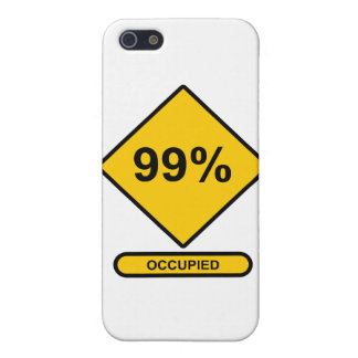 99% Occupied Case For iPhone 5/5S