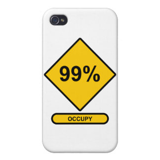 99% Occupy iPhone 4/4S Cover