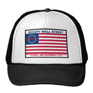 99% Occupy Wall Street Flag The New Revolution Cap