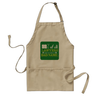 99% of all Lawyers Standard Apron