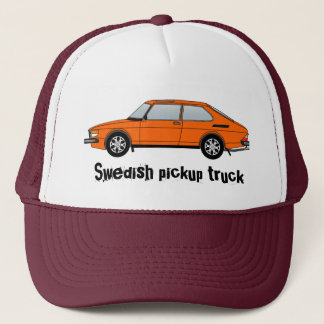 99_orange, Swedish pickup truck Trucker Hat