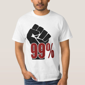 99 Percent Fist T-shirts