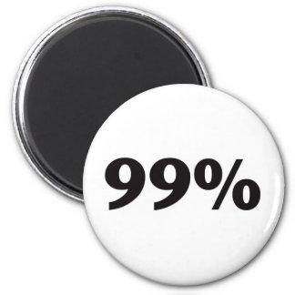 99 Percent Fridge Magnet