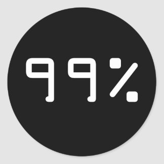 99 percent sticker